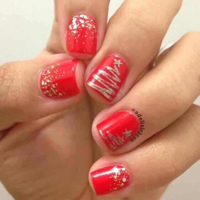 2014 crhistmas nails (2)