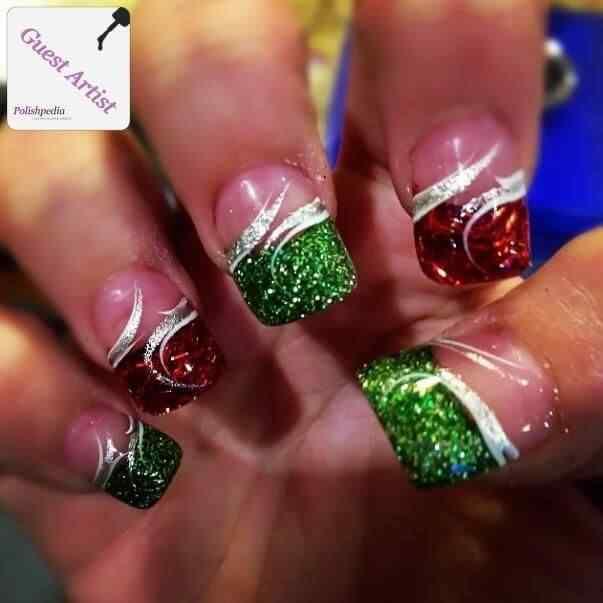 2014 crhistmas nails (3)