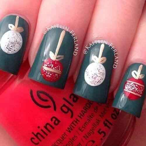 2014 crhistmas nails (4)