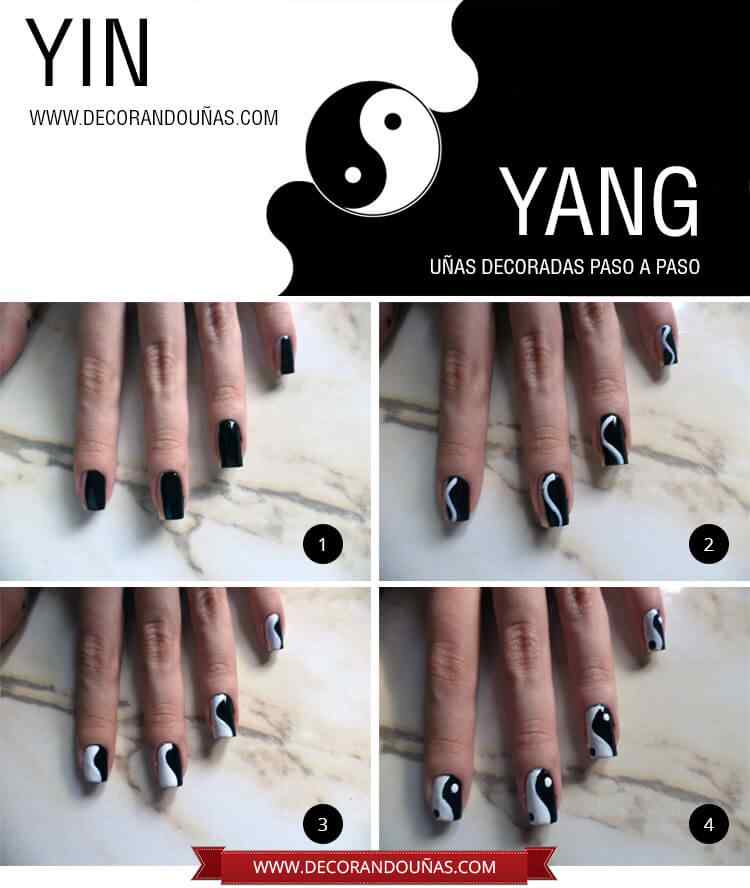 unas-decoradas-yin-yang