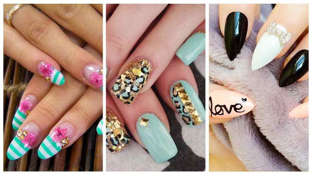 🥇 COMO tener UÑAS LARGAS, tips y + de 100 fotos de uñas decoradas