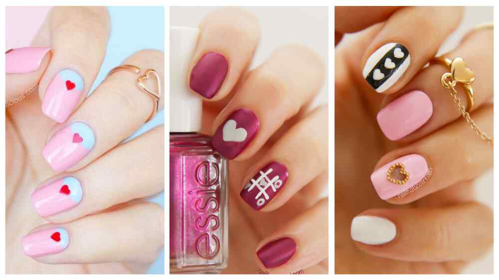 U As De San Valentin 70 Dise Os U As Decoradas Nail Art