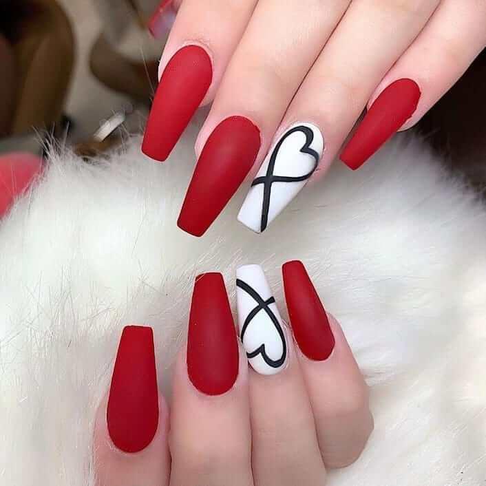 diseño de uñas 14 febrero