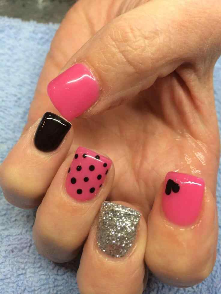 valentines nails nail art (10)