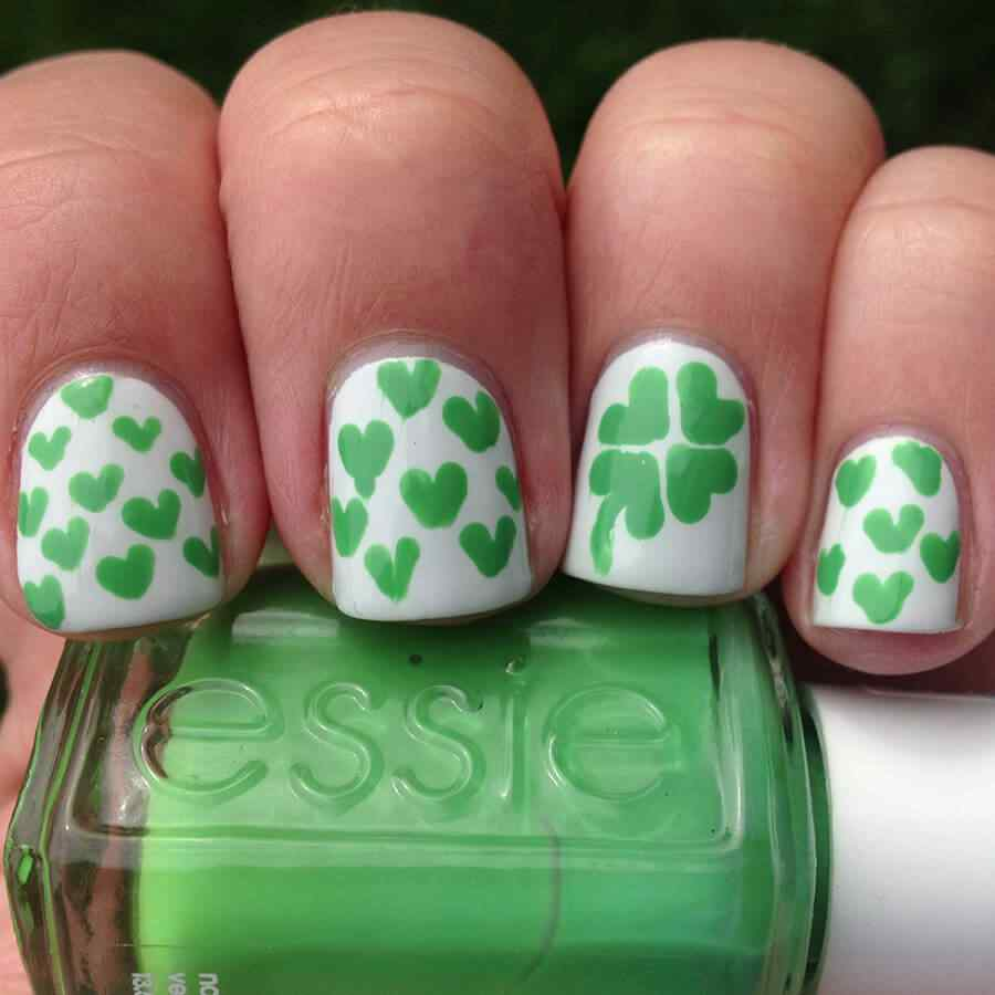 St Patricks Day Nail art (11)