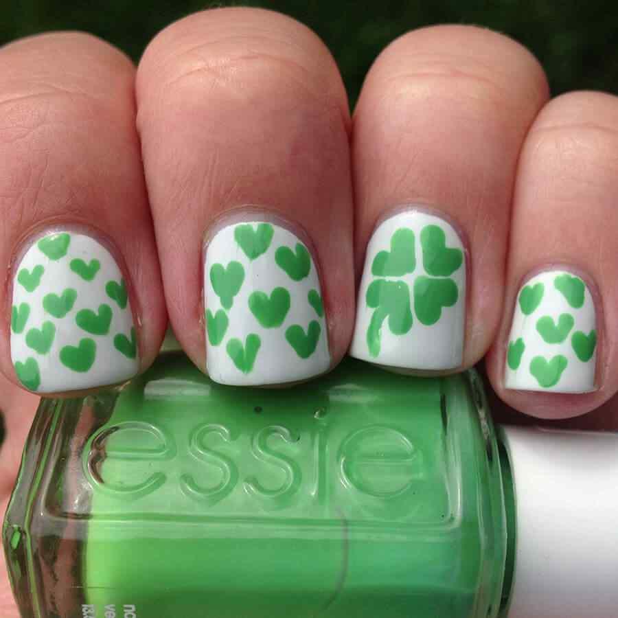 St Patricks Day Nail art (11)