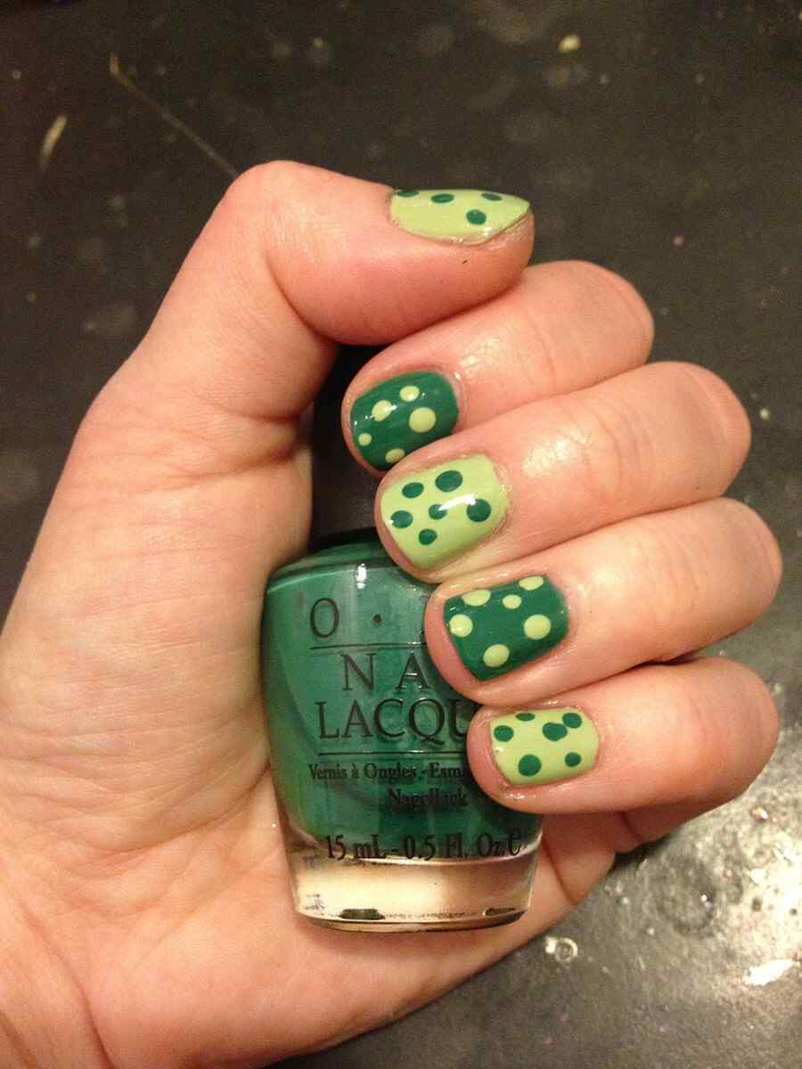 St Patricks Day Nail art (12)