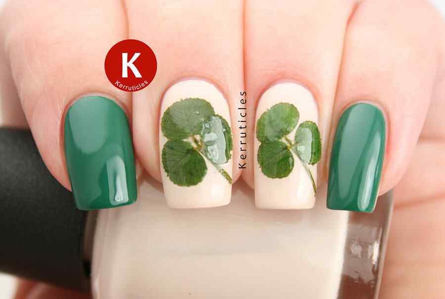 St Patricks Day Nail art (16)
