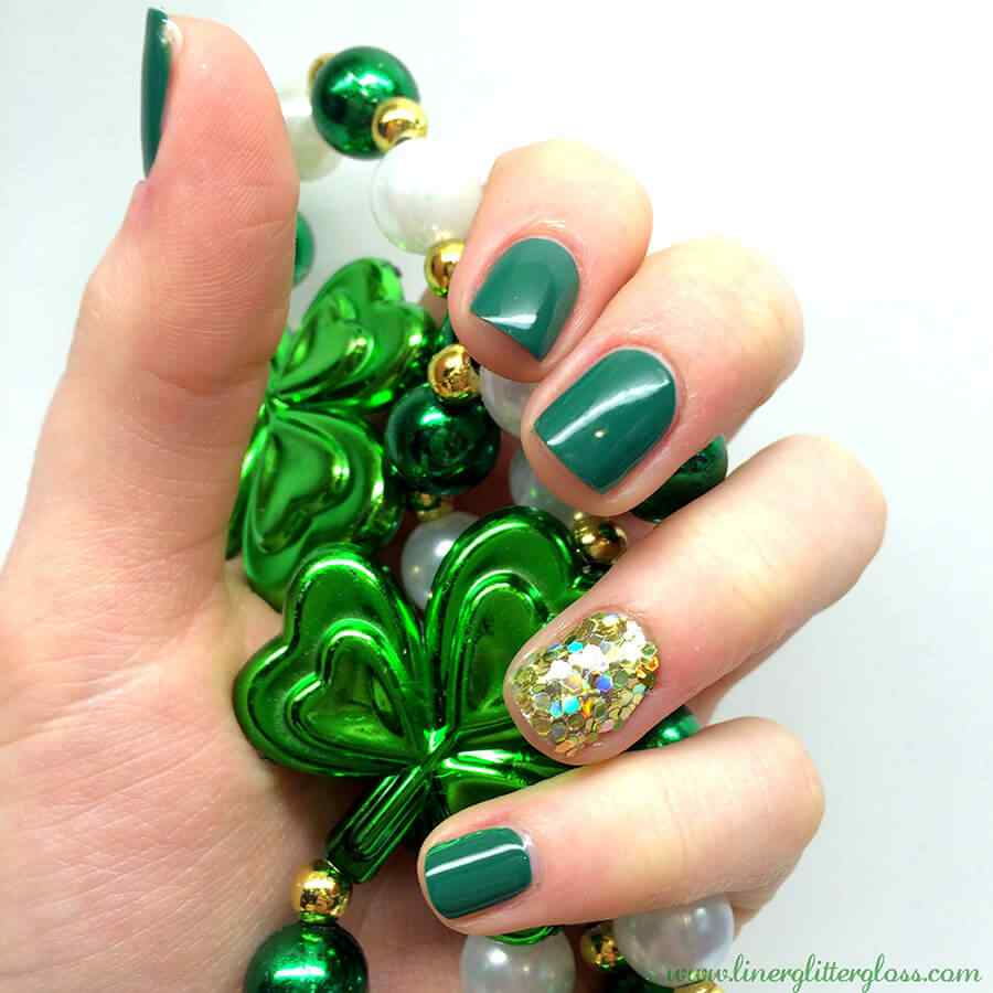 St Patricks Day Nail art (17)