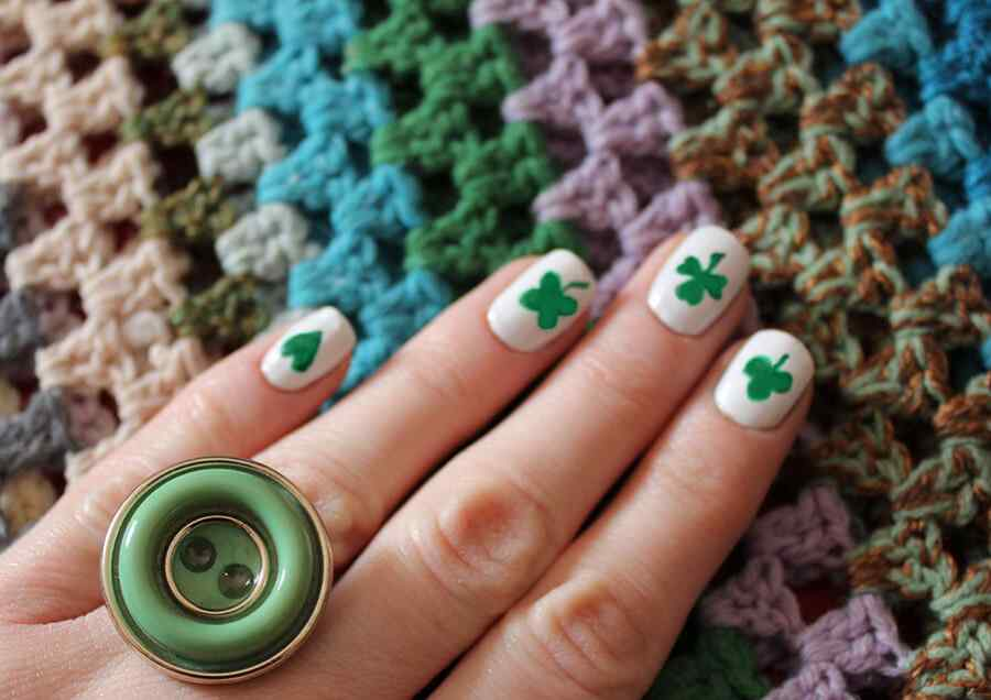St Patricks Day Nail art (18)