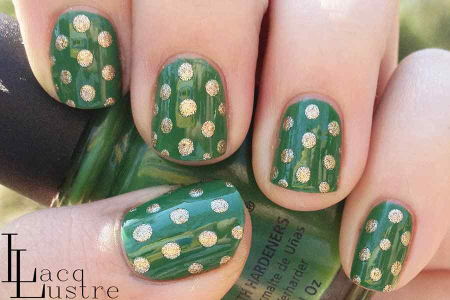 St Patricks Day Nail art (3)