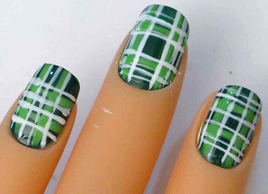 St Patricks Day Nail art (4)