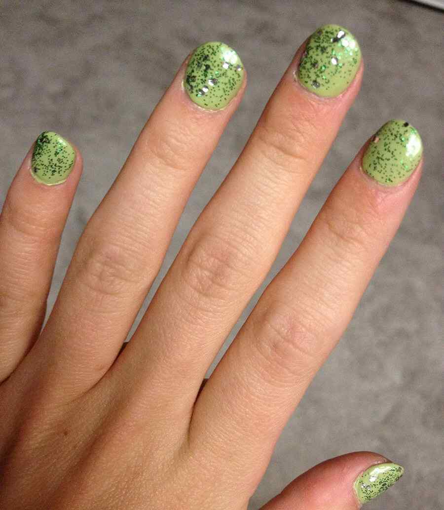 St Patricks Day Nail art (5)
