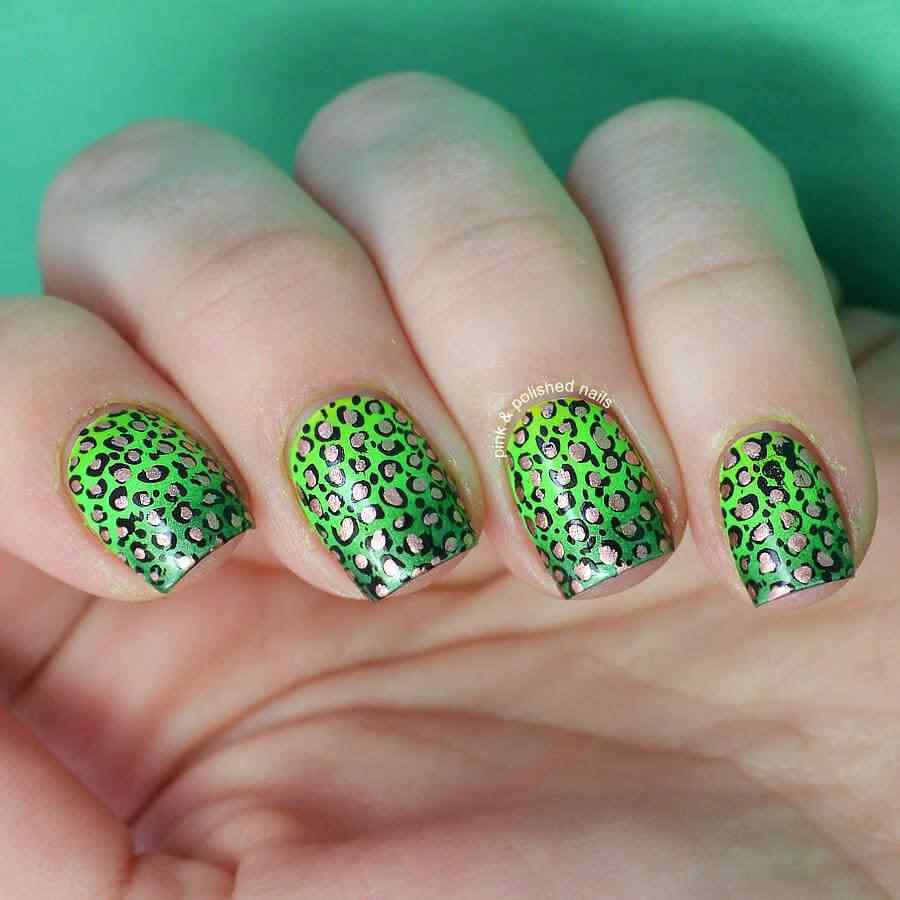 St Patricks Day Nail art (6)