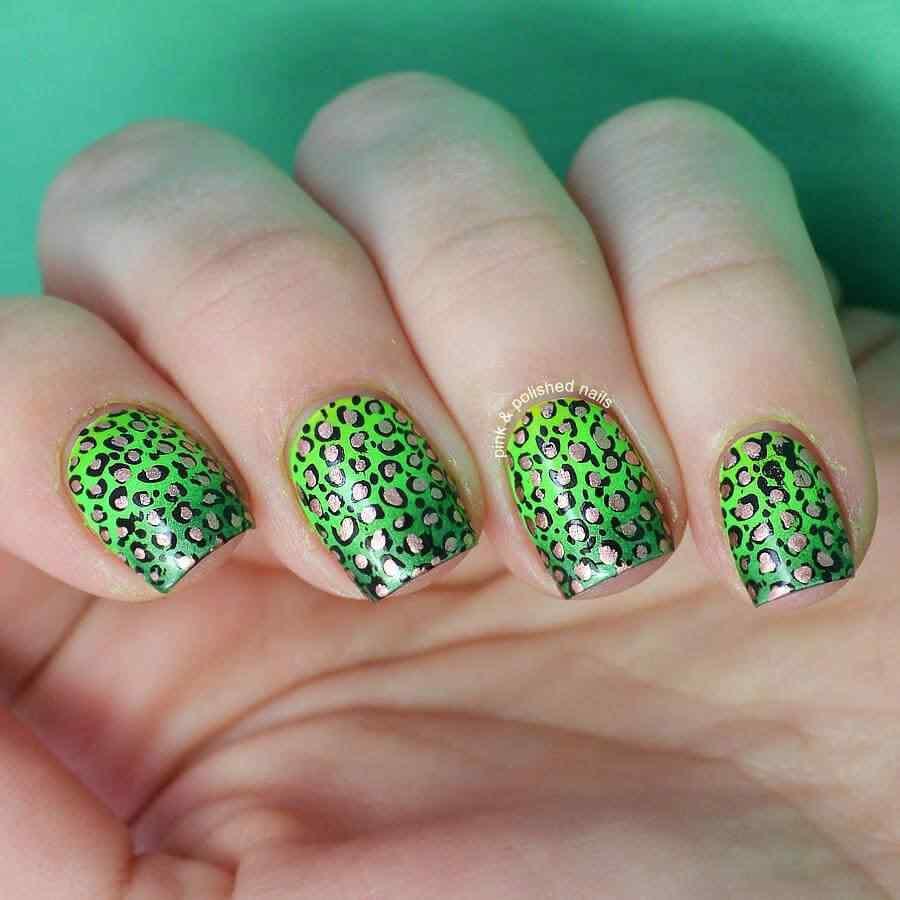 St Patricks Day Nail art (6)