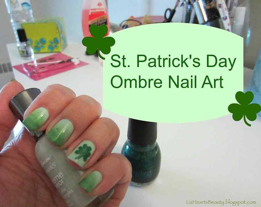 St Patricks Day Nail art (7)
