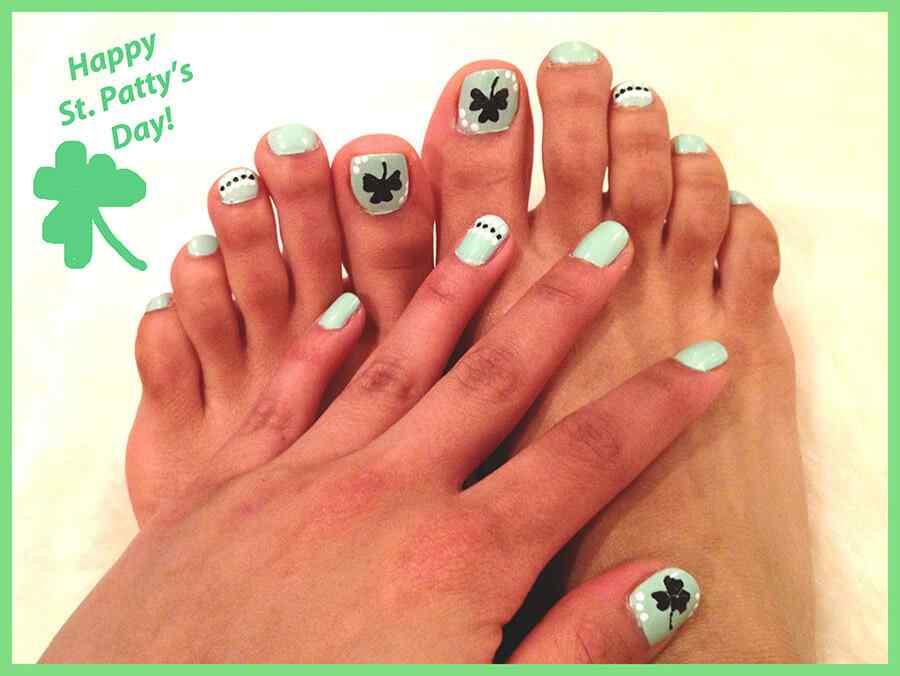 St Patricks Day Nails (7)