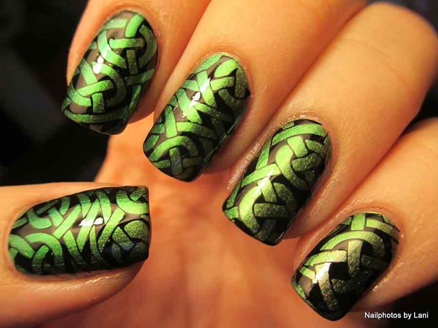 St Patricks Day Nails (8)