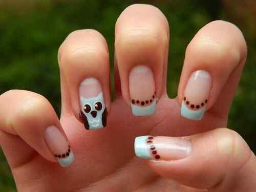 owl nails (10)