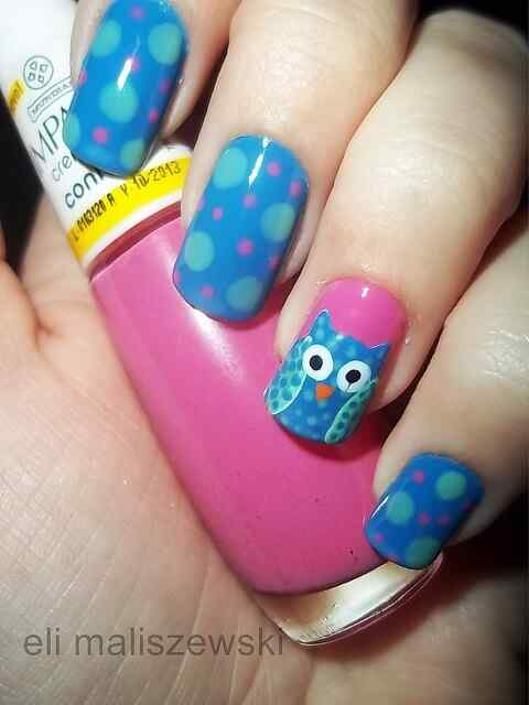 owl nails (11)