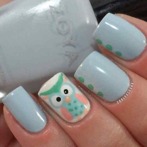 owl nails (3)