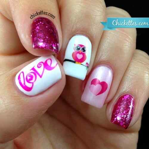 owl nails (7)