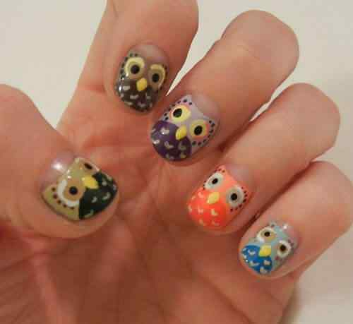 owl nails (9)