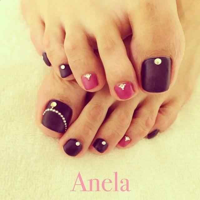 170 Dise Os De U As Para Los Pies U As Decoradas Nail Art