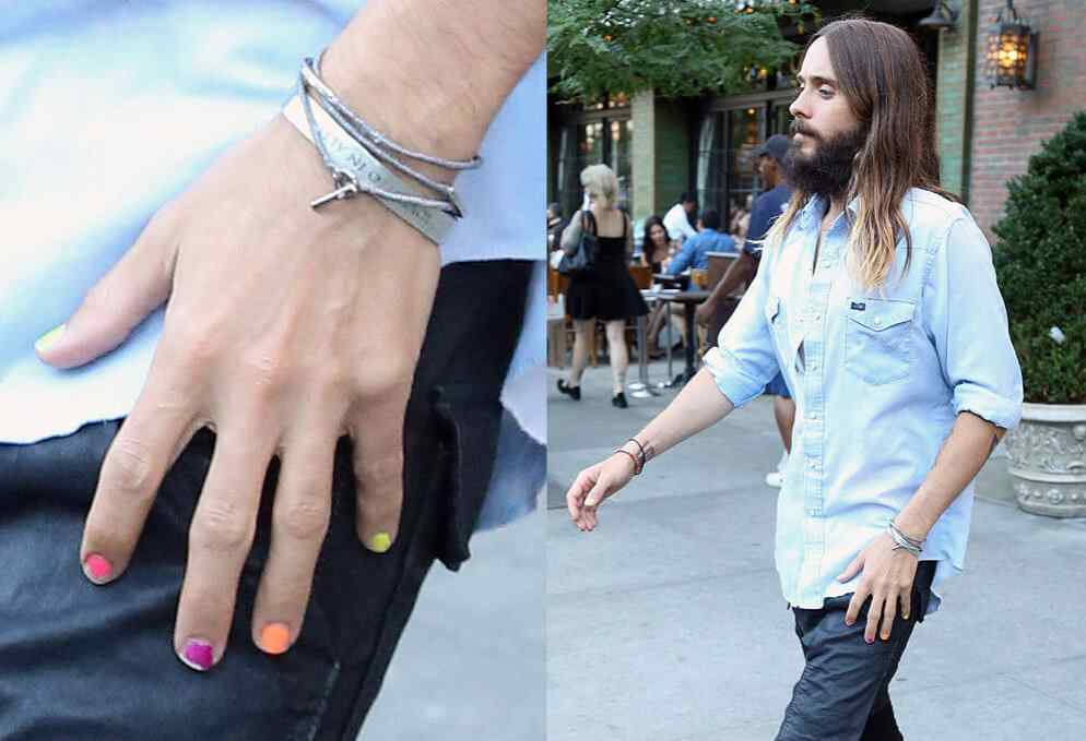 Uñas decoradas Jared Leto