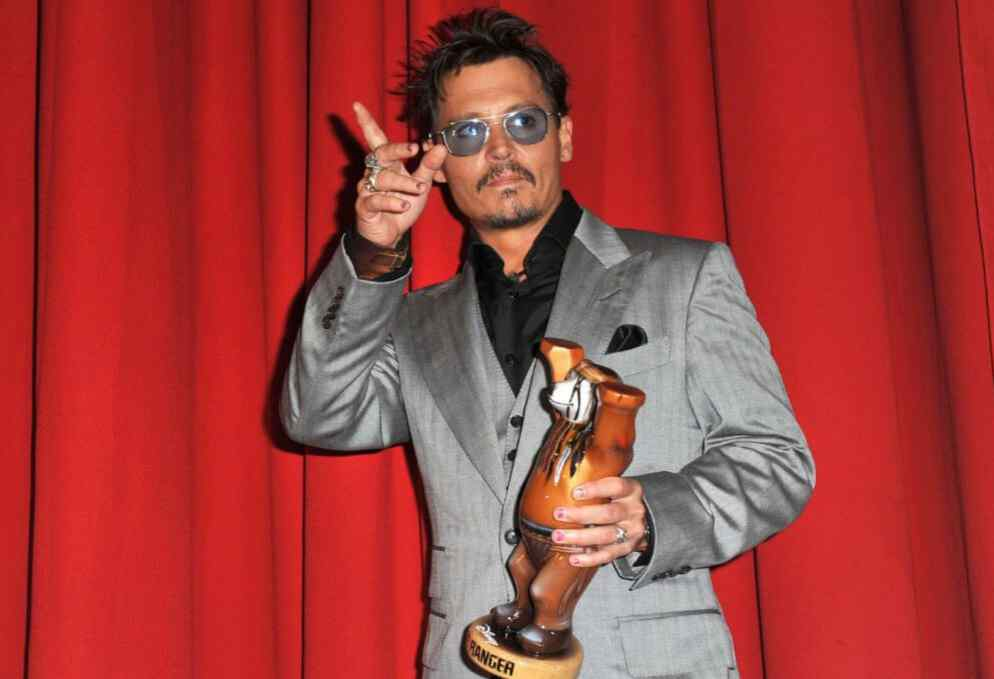 Uñas decoradas Johnny Depp