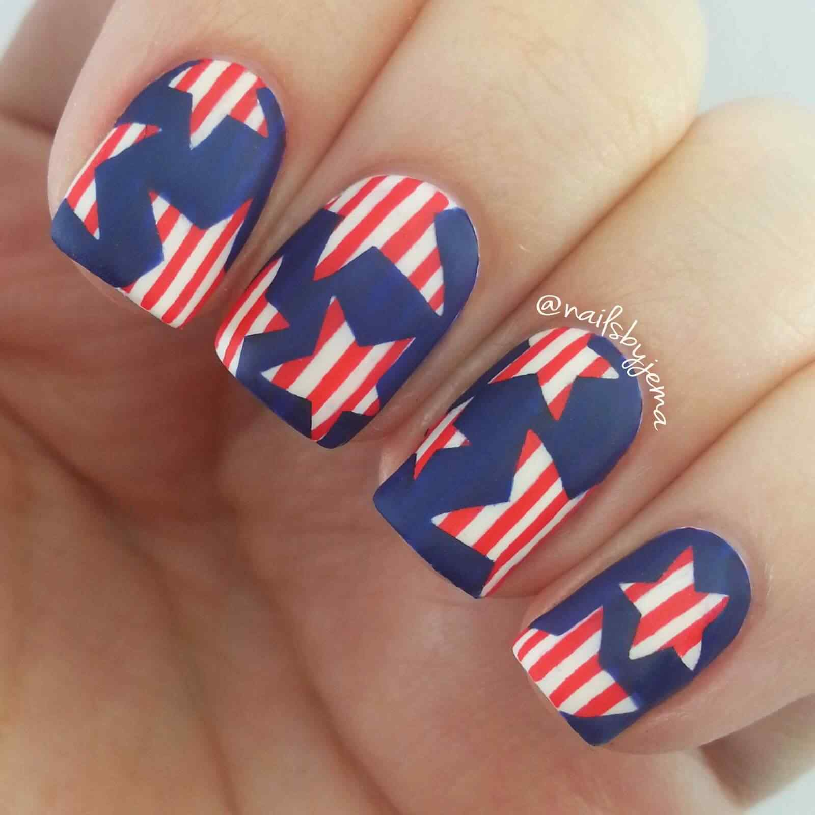 4TH of july nails (5)