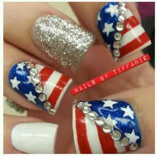 4th july nailart (10)