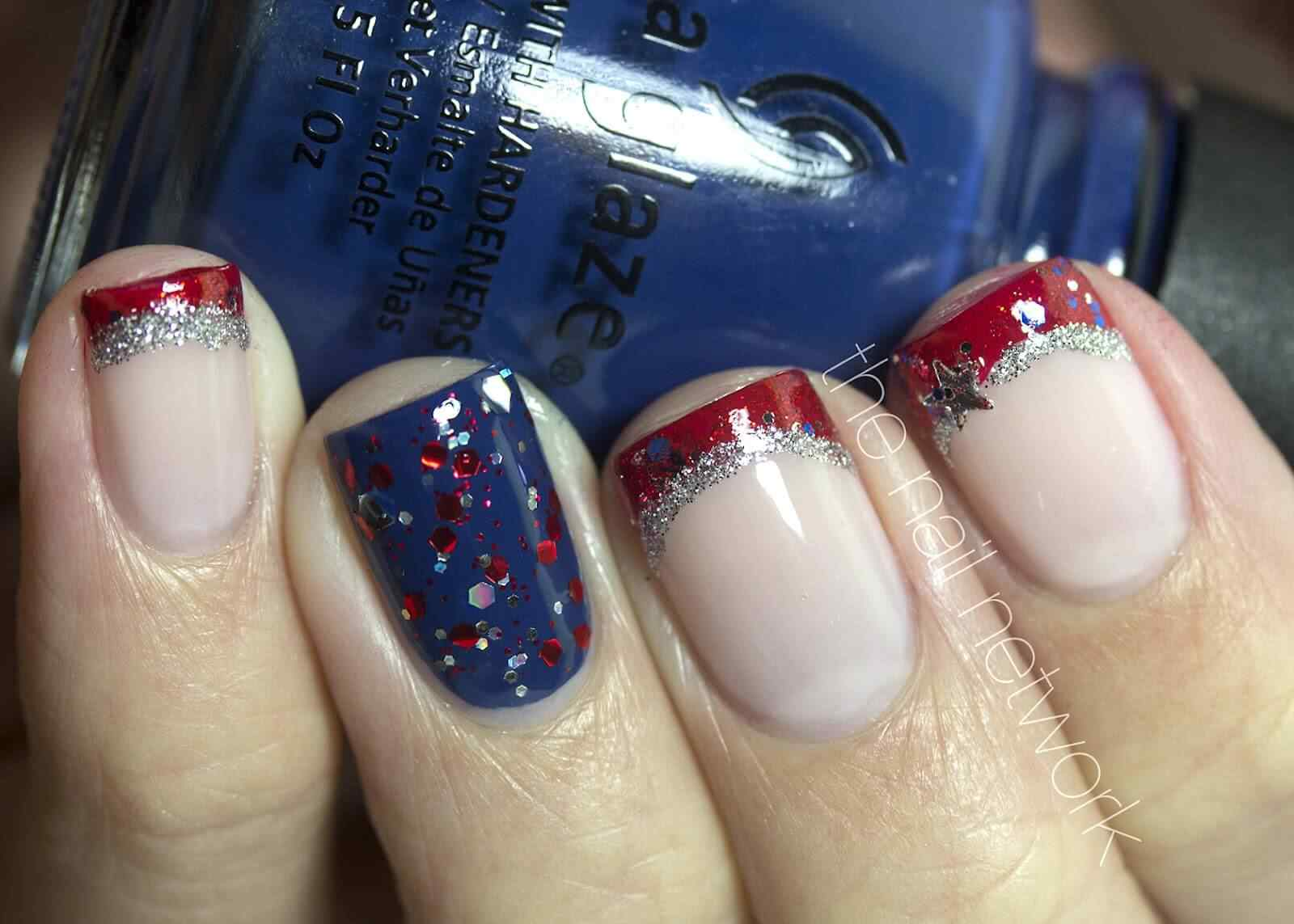 4th july nailart (2)