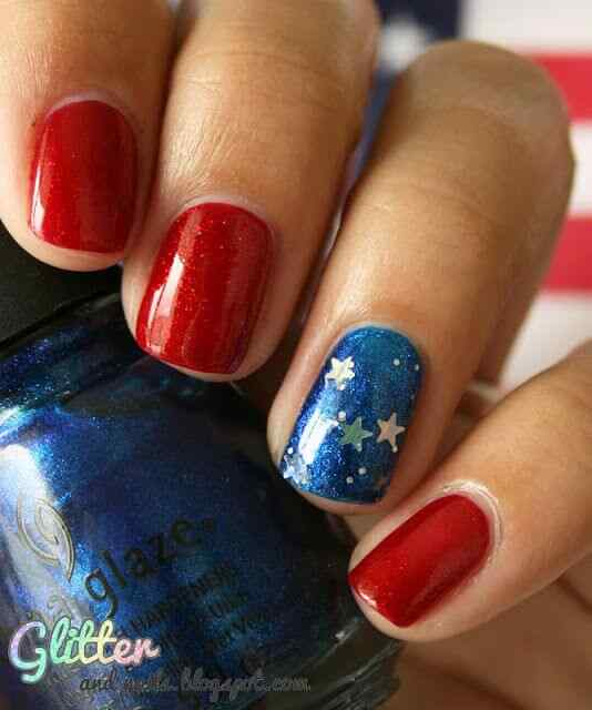 4th july nailart (5)