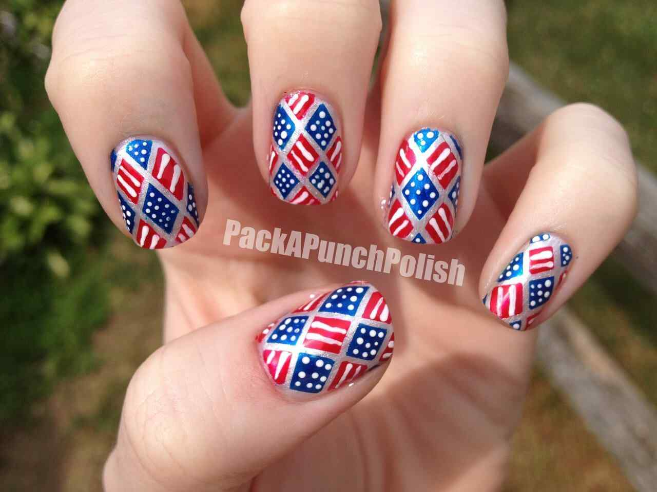 Fourth of July Nails (4)