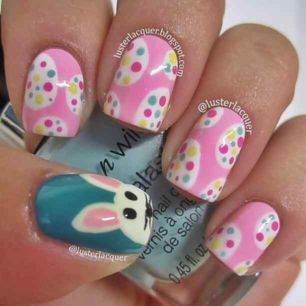 unas decoradas conejos (3)