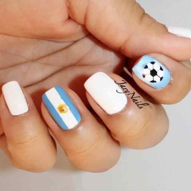 decoracion de unas bandera argentina (5)