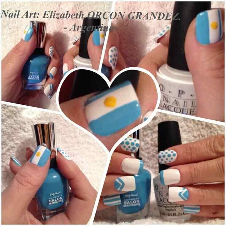 unas decoradas de argentina (7)
