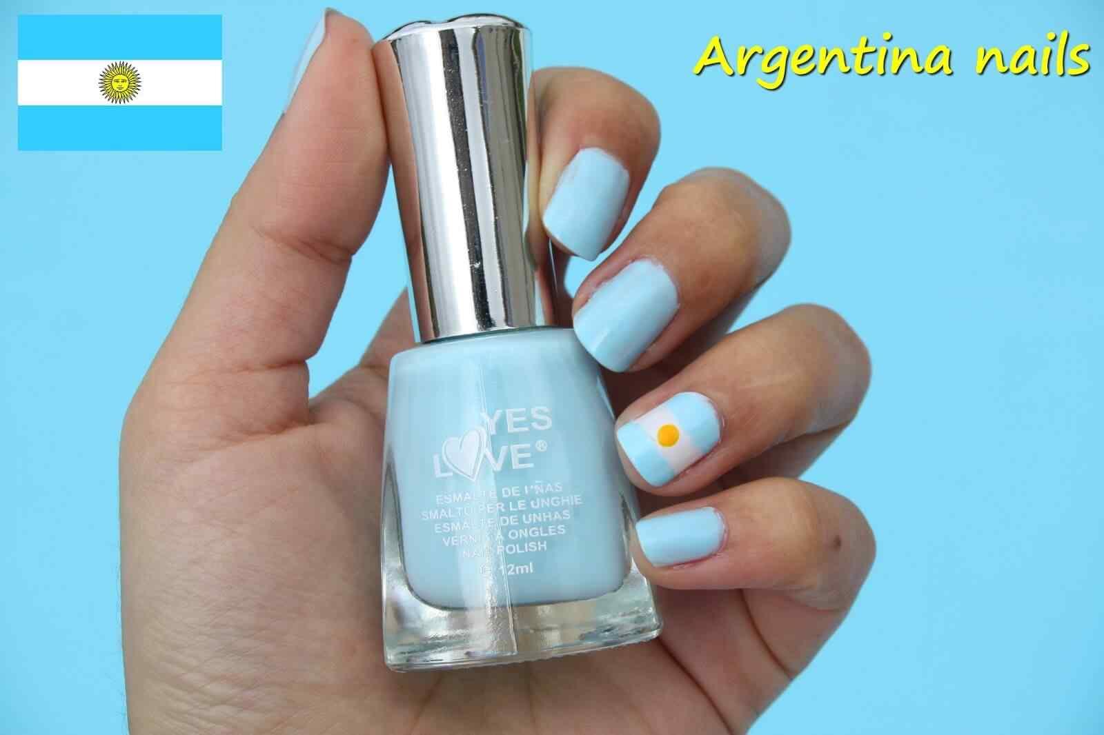 unas decoradas de argentina (9)