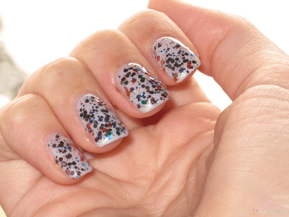 Nails Art topper circus confeti