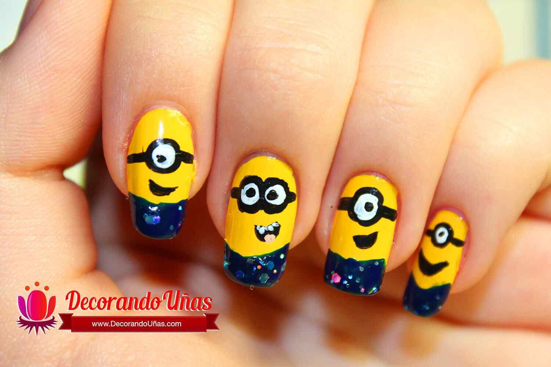 minions-nail-art-diy