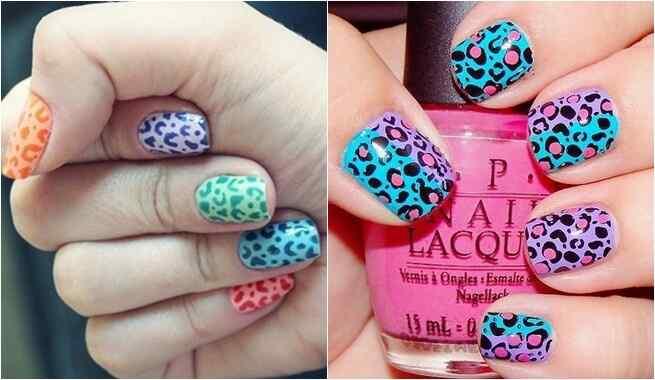 Diferentes motivos de animal print para lucir unas uñas chic ...