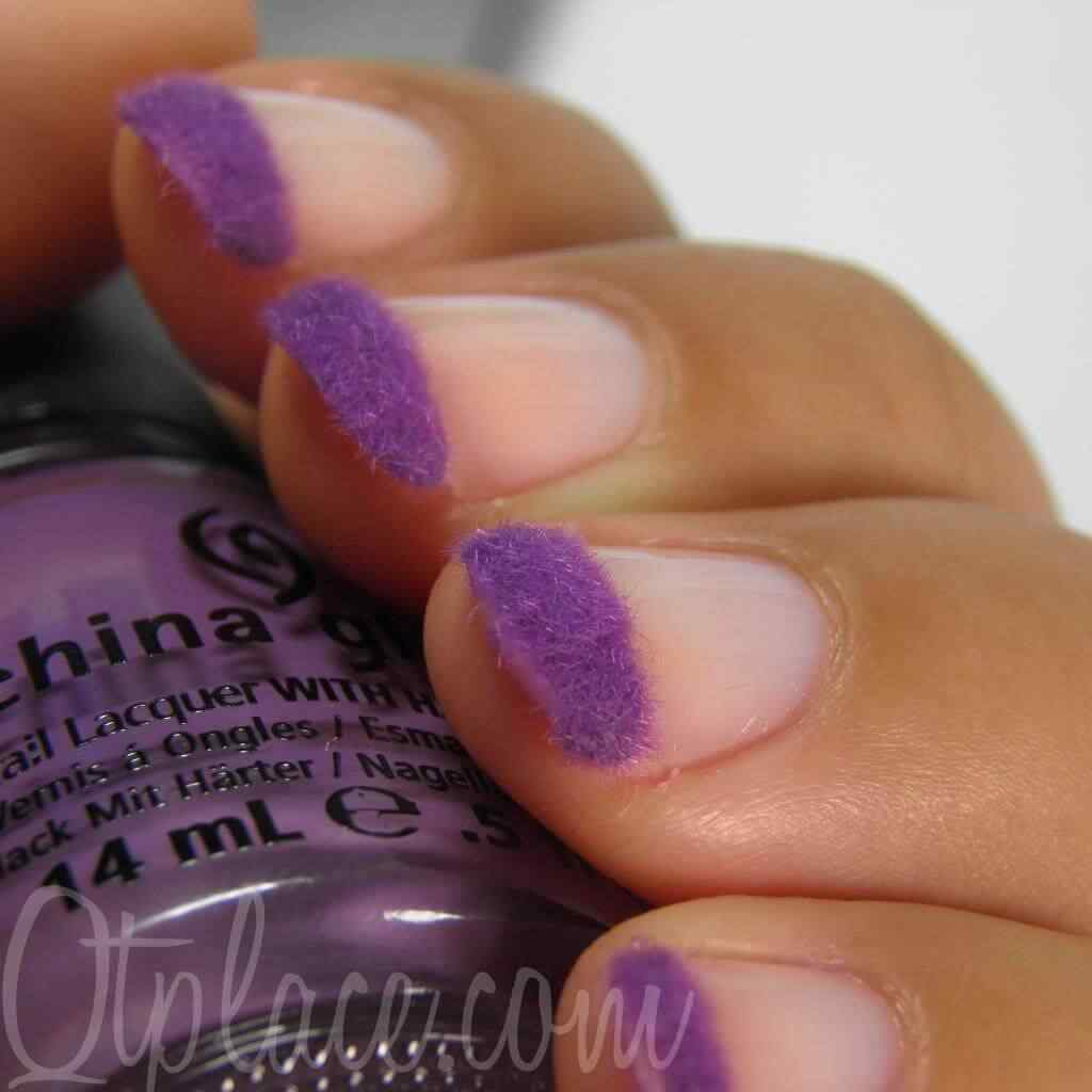 velvet manicure french