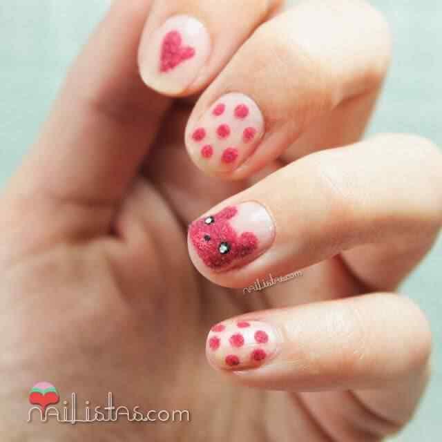 velvet nail art (3)