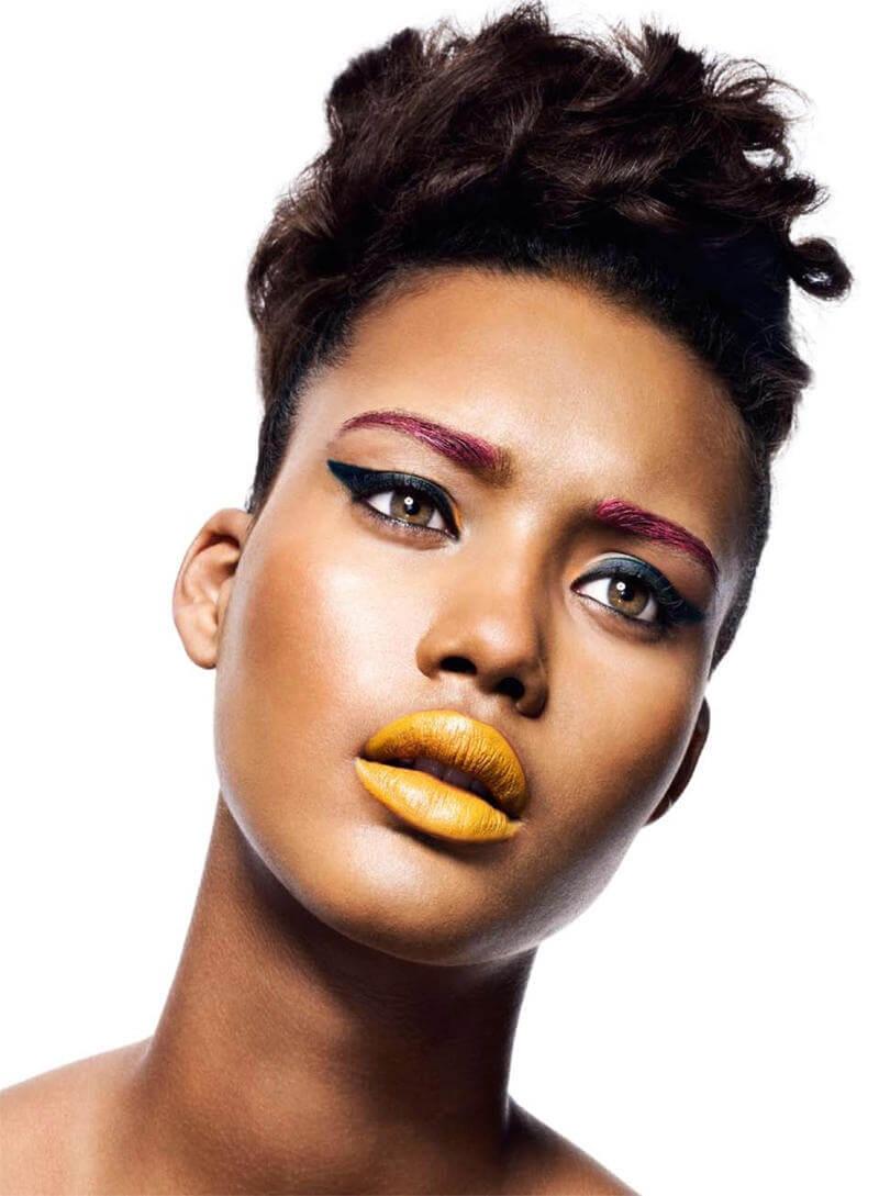maquillaje-amarillo-para-labios