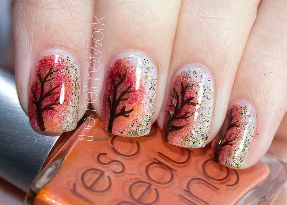 Autumn nail art (4)