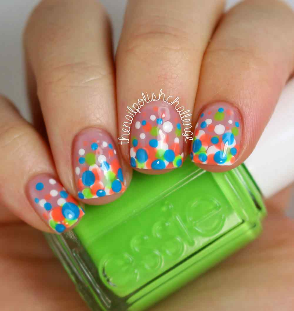 confetti nail art (1)