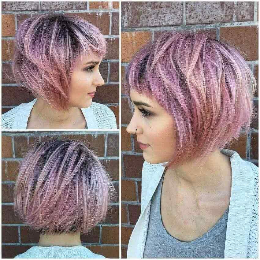 Más de 100 Ideas de peinados y cortes de pelo corto para mujeres 2019 31