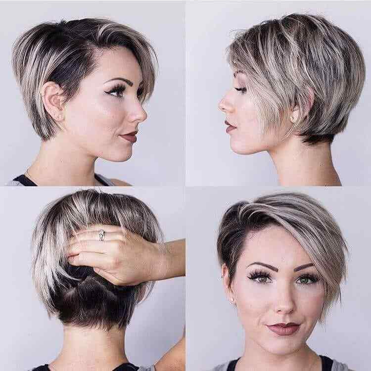 Más de 100 Ideas de peinados y cortes de pelo corto para mujeres 2019 32