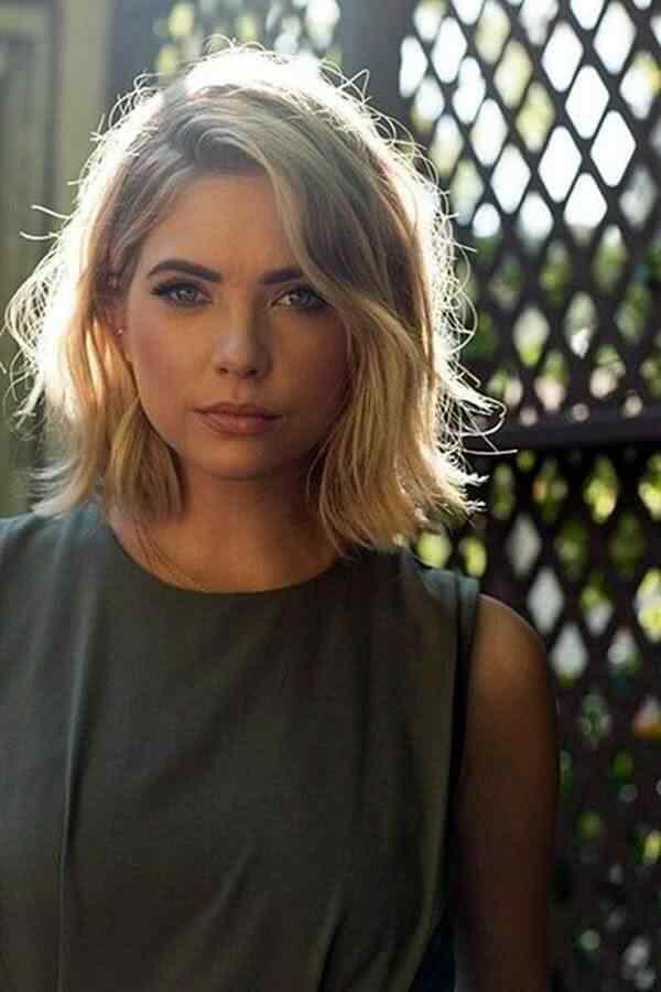 Más de 100 Ideas de peinados y cortes de pelo corto para mujeres 2019 34